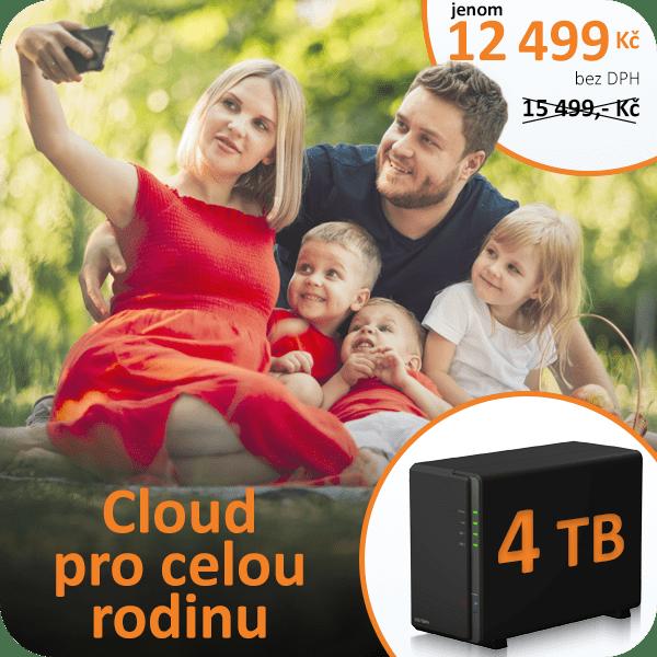 Datové úložiště, domácí úložiště, vlastní cloud, domácí cloud s kapacitou 4TB